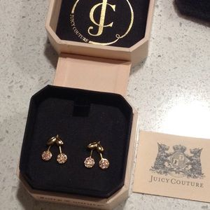 Juicy Couture Cherry Earrings NEW